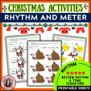 Rhythm and Meter with a Santa Theme