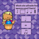 Rhythm Note Value Interactive Music Game-Google/PDF-Measuring w/Emma
