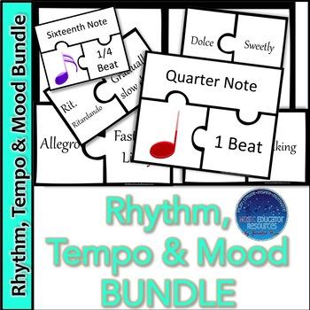 Rhythm and Tempo-Mood Puzzle BUNDLE