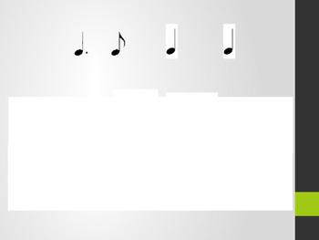 Rhythm assessment ta titi tikatika titika tikati rest too syn-CO-pa Tomti Titom