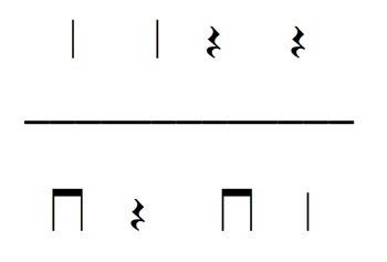 Rhythm flashcards {Quarter Rest}