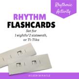 Rhythm flashcards {Ti-tika}