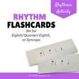 Rhythm flashcards {Syncopa}