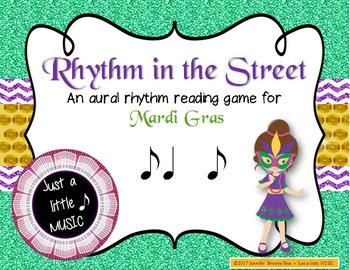 Rhythm in the Street -- A Mardi Gras Aural Rhythm Recognition Game {syncopa}