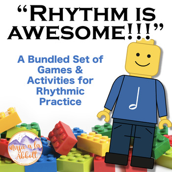 Rhythm is AWESOME {A Bundled set for half note}