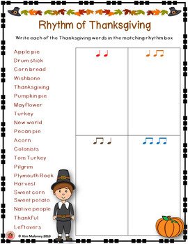 Rhythm of Thanksgiving
