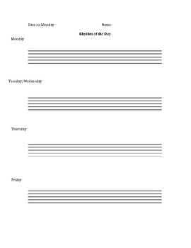 Rhythm of the Day