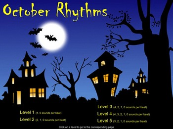 Rhythm of the Month - October Icons