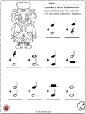 St Patrick's Day Music Activity: Leprechaun Music Math: Free Music Download