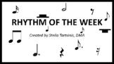 Rhythm of the Week