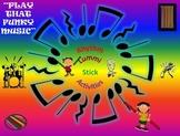 Rhythm/Lummi Stick Activity: Play That Funky Music