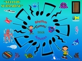 Rhythm/Lummi Stick Activity: Yellow Submarine