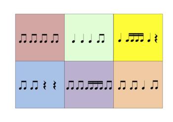 Rhythmic Bingo