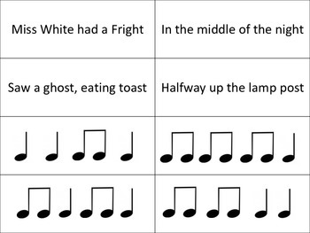 Rhythmic Dictation and Symbol Use with Simple Songs