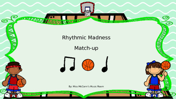 Rhythmic Madness Ti Ti Ta(quarter/eighth notes)