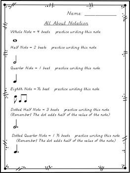 Rhythmic Notation Assessments