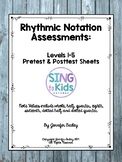 Rhythmic Notation Assessments