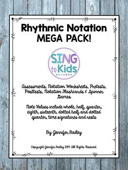 Rhythmic Notation MEGA Pack