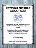 Rhythmic Notation MEGA Pack