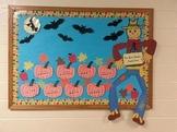 Rhythmic Pumpkin Patch Bulletin Board