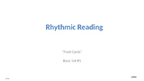 Rhythmic Reading Drill with Flashing Hearts Basic Set