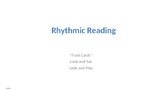 Rhythmic Reading, Say and Play