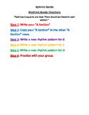 Rhythmic Rondo Form Activity