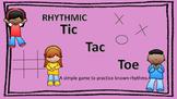 Rhythmic Tic Tac Toe