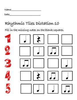 Rhythmic Tiles 10
