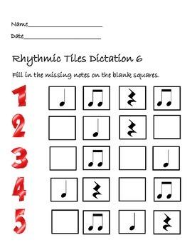 Rhythmic Tiles 6