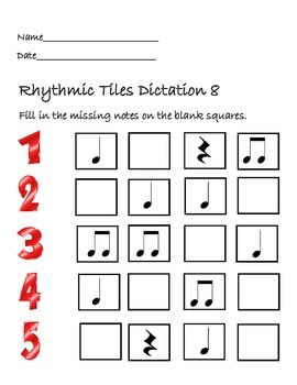 Rhythmic Tiles 8