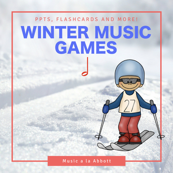 Rhythmic Winter Games for the Music Room: half note