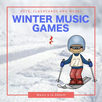 Rhythmic Winter Games for the Music Room: quarter rest