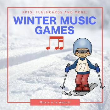 Rhythmic Winter Games for the Music Room: ti-tika