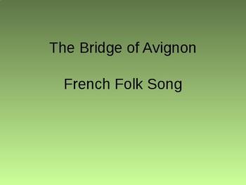 Rhythms/Activity Bridge of Avignon