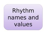 Rhythms Clap and Say