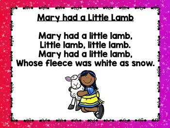 Rhythms & Rhymes: Mary Had a Little Lamb