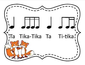 What Does the Fox Say? Set 2: Rhythms