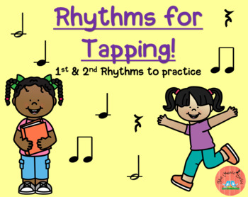 Rhythms for Tapping! FREE Resource!