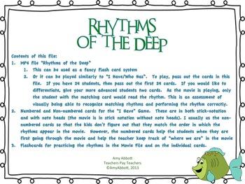 Rhythms of the Deep: tika-ti