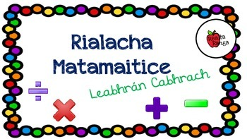 Rialach Matamaitice - Leabhrán an Pháiste // Maths Rules - Personal Booklet