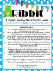 Ribbit!  A fun classroom spelling game.