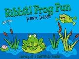 Ribbit! Frog Fun Room Decor Pack