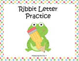 Ribbit Letter Practice