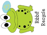 Ribbit Recycle Poster