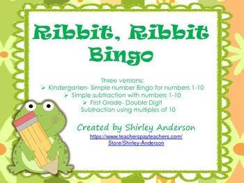 Ribbit, Ribbit, Bingo