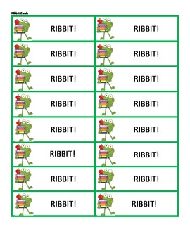 Ribbit! - Syllable Division for Closed and Open Syllables