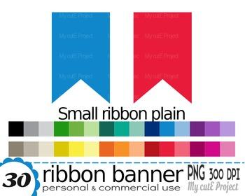 Ribbon Banner | Clipart | 30 png files | Scrapbooking Clip art | CA22