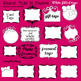 Ribbon Frames and Tags Digital Clip Art Elements