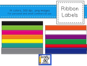 Ribbon Labels